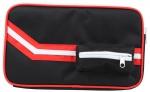 Чехол прямоугольный на 2 ракетки Stiga Elegant черный